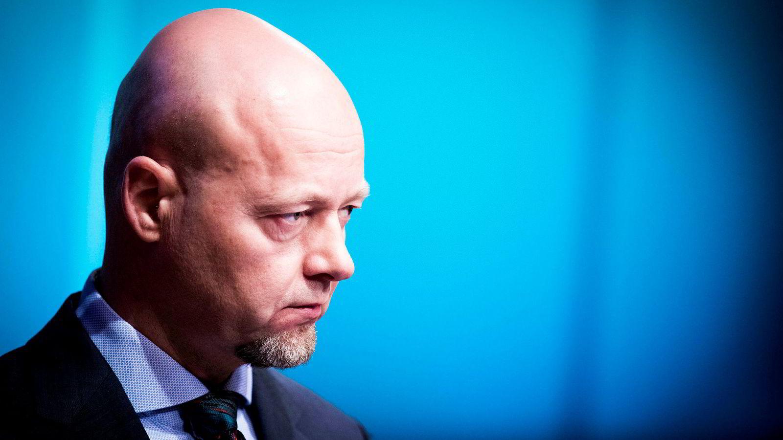 Oljefond-sjef Yngve Slyngstad.