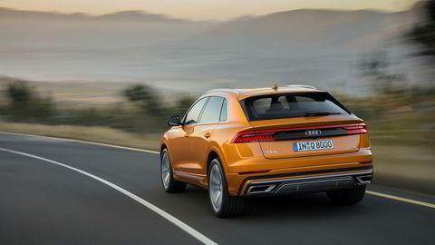 Audi Q8 blir sjef i Q-familien, og ligger nok også i øvre del av prislistene.