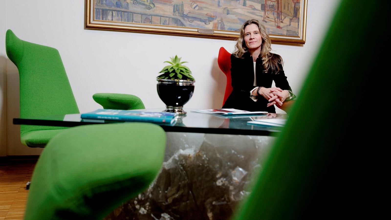 - Seismikk er shipping på steroider, sier Shearwater-sjef Irene Waage Basili.