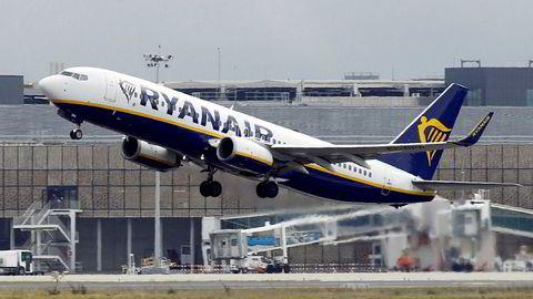 Ryanair - åpner nå for første gang for å anerkjenne fagforeninger. Foto: Regis Duvignau