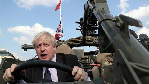Toryenes Boris Johnson får gode skussmål fra president Donald Trump.