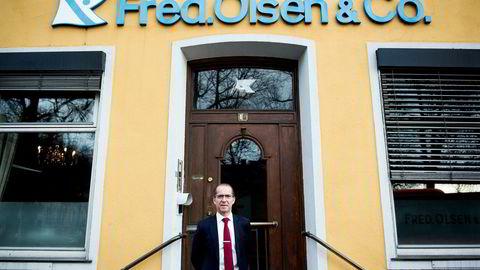 Administrerende direktør Ivar Brandvold i Fred. Olsen Energy legger onsdag frem selskapets resultater for tredje kvartal.