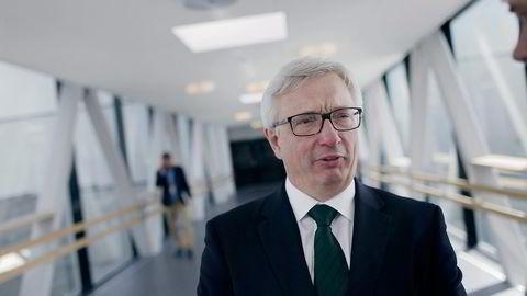 Direktør Karl Eirik Schjøtt-Pedersen i Norsk olje og gass påpeker at oljepengebruken er nær doblet på to år, samtidig som statens oljeinntekter er halvert. Foto: