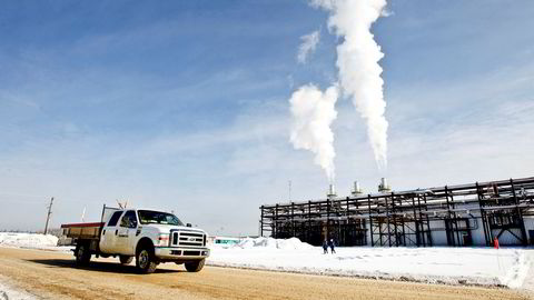 Her ved pilotanlegget Leismer i Canada har Statoil forsøkt å drive tungolje ut av oljesanden ved å pumpe vanndamp ned i undergrunnen. Statoil hadde store ambisjoner om å gjøre dette mer energieffektivt enn noen andre da selskapet gikk inn i området i 2007.