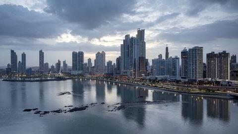 Panama City, Panama. Det er fra denne byen selskapet i sentrum av lekkasjene holder til. Foto: Istock