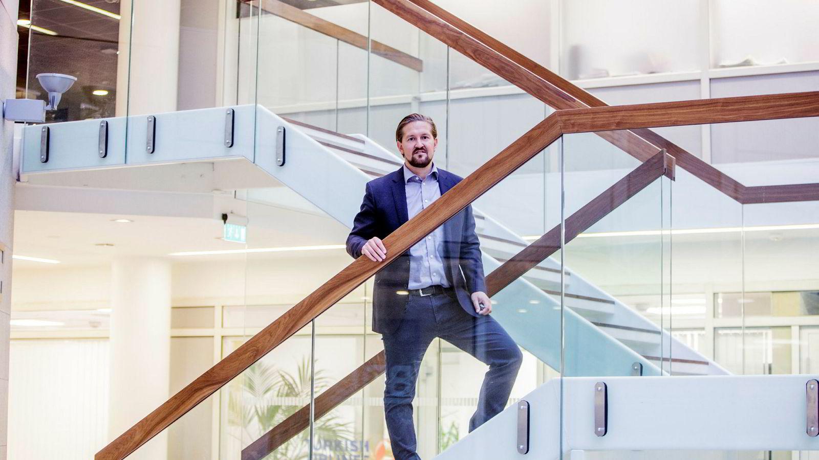 Administrerende direktør i Kahoot Åsmund Furuseth er godt fornøyd med utviklingen gjennom 2018.