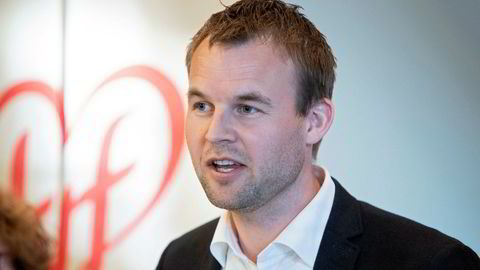 KrF-leder Kjell Ingolf Ropstad.