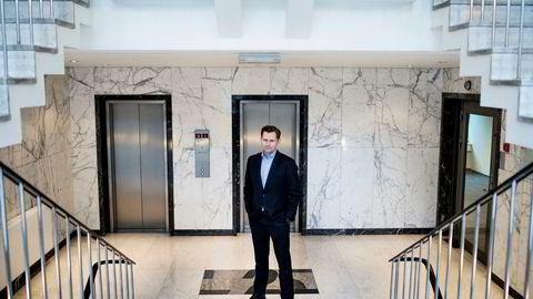 Haakon H. Jensen, administrerende direktør i Investinor, er strålende fornøyd med salget av aksjene i Alpinico. Foto: Skjalg Bøhmer Vold