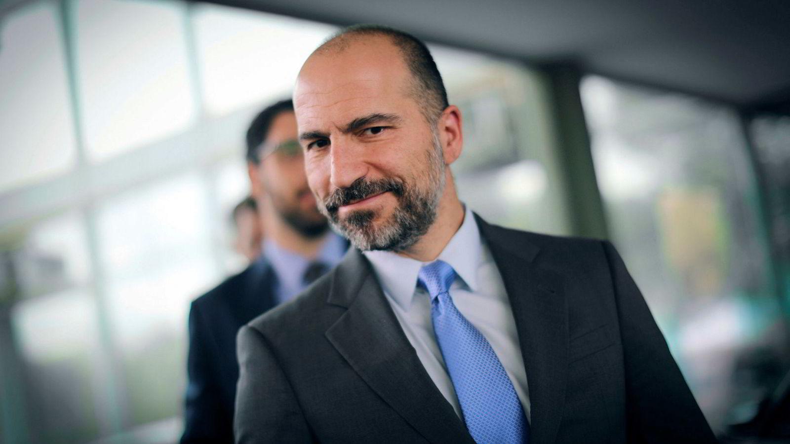 Uber-sjef Dara Khosrowshahi ba om et møte med Solberg, men fikk et nei tilbake.