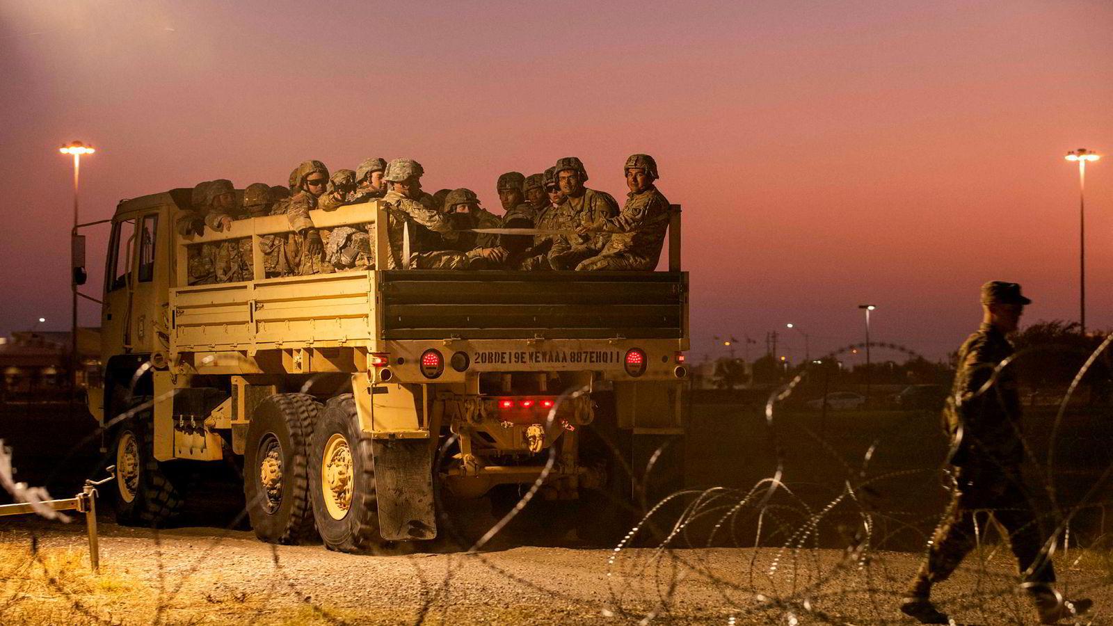 USA skal sende 500 soldater til Saudi-Arabia.