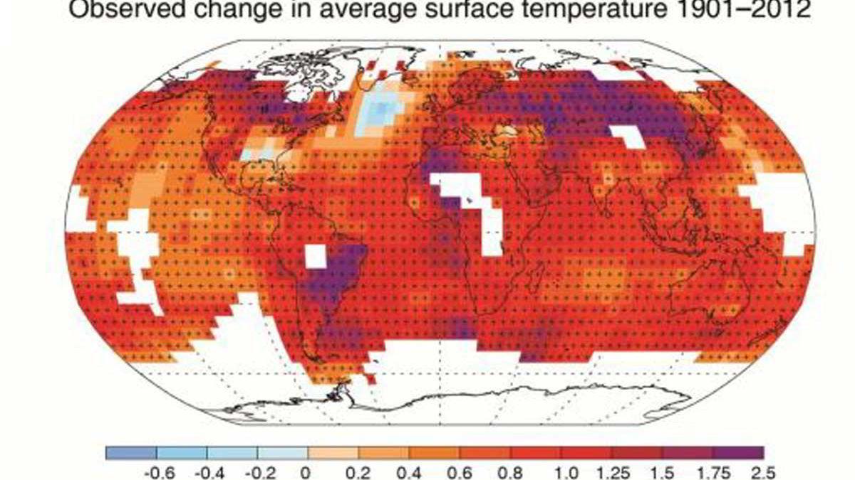 FNs klimapanel viser at det er udiskutabelt at temperaturen stiger, selv om temperaturøkningen de siste 15 årene har vært lavere enn man først estimerte.