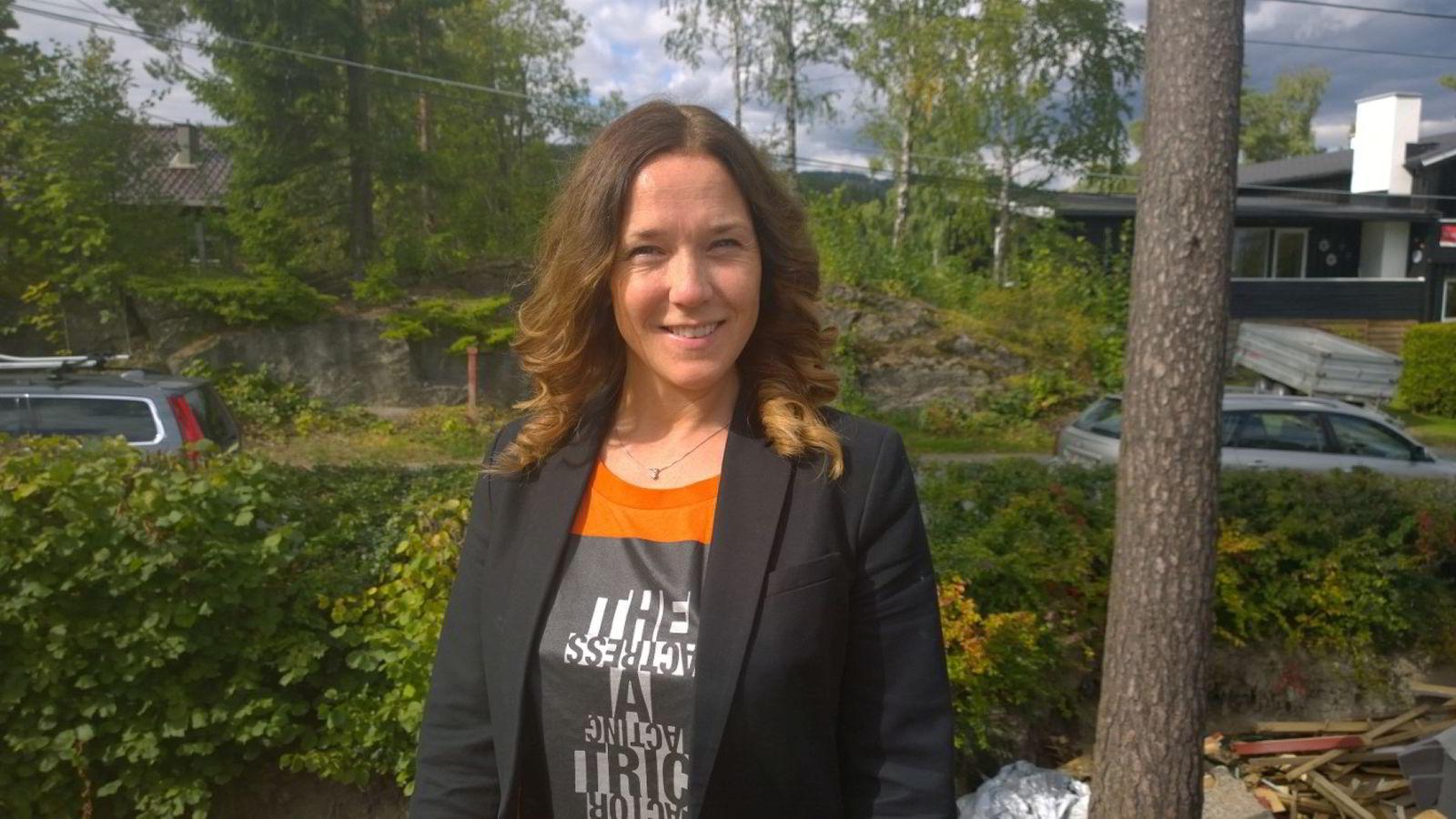 DRO TIDLIG UT. - Jeg lærte veldig mye, ikke minst om meg selv, sier Ellen Vrålstad.