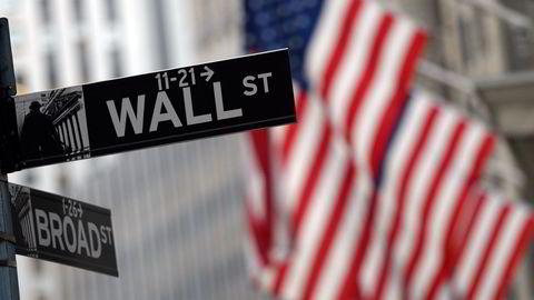 Amerikanske aksjer stiger fra start tirsdag. Foto: AFP PHOTO / TIMOTHY A. CLARY/NTB SCANPIX