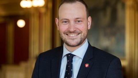 Stortingspolitiker Sivert Bjørnstad (Frp)