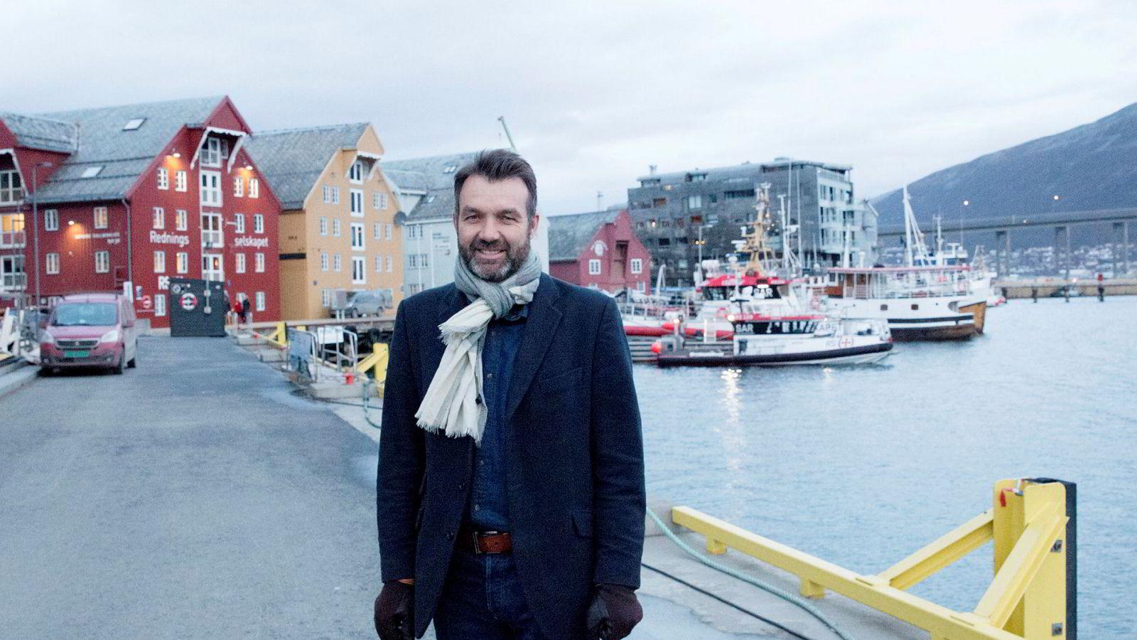 Medeier og daglig leder Eirik Bræin Gikling i Eliassen Rorbuer.