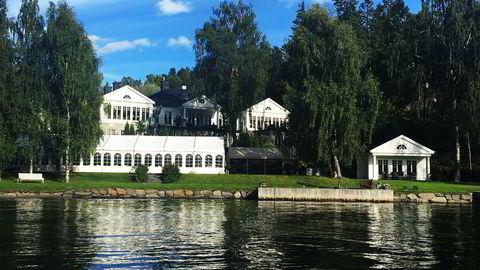 Ole Henrik Bjørge i Pareto har kjøpt Vesthellinga 3 på Nesøya for rekordsummen 60 millioner kroner, ifølge Finansavisen. Foto: Bente Bjørndal