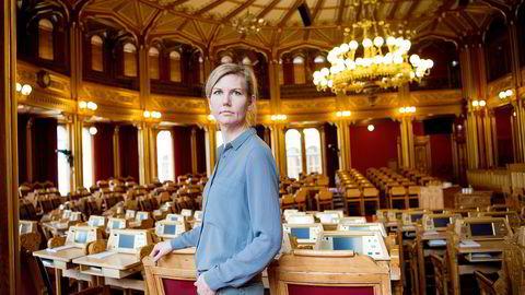Finanspolitisk talskvinne i Arbeiderpartiet Marianne Marthinsen. Foto: Mikaela Berg