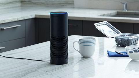 Amazons Echo står på kjøkkenet, soverommet eller stuen, og gjør opptak av det vi sier. Selskaper som leverer talestyrte assistenter er avhengig av tillit.