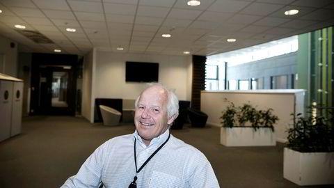 Agder Energi gikk i 2018 på sitt første underskudd noensinne. Her er selskapets konsernsjef Tom Nysted.