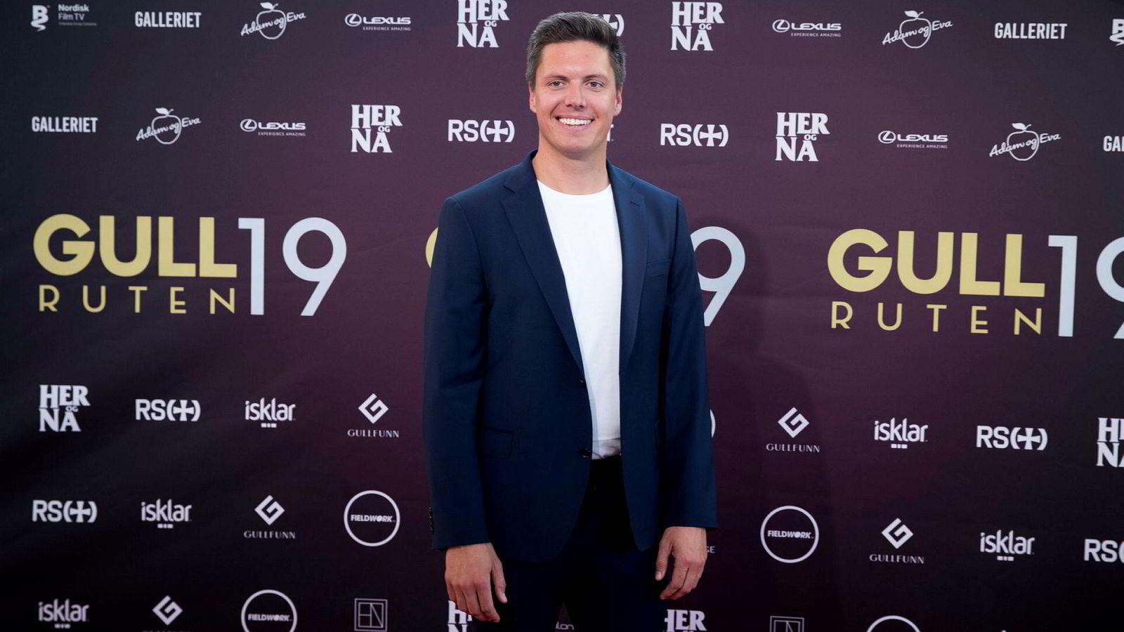 Andreas Wahl er programleder i NRK-programmet «Folkeopplysningen»