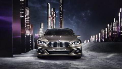 BMW Concept Compact Sedan. Foto: BMW