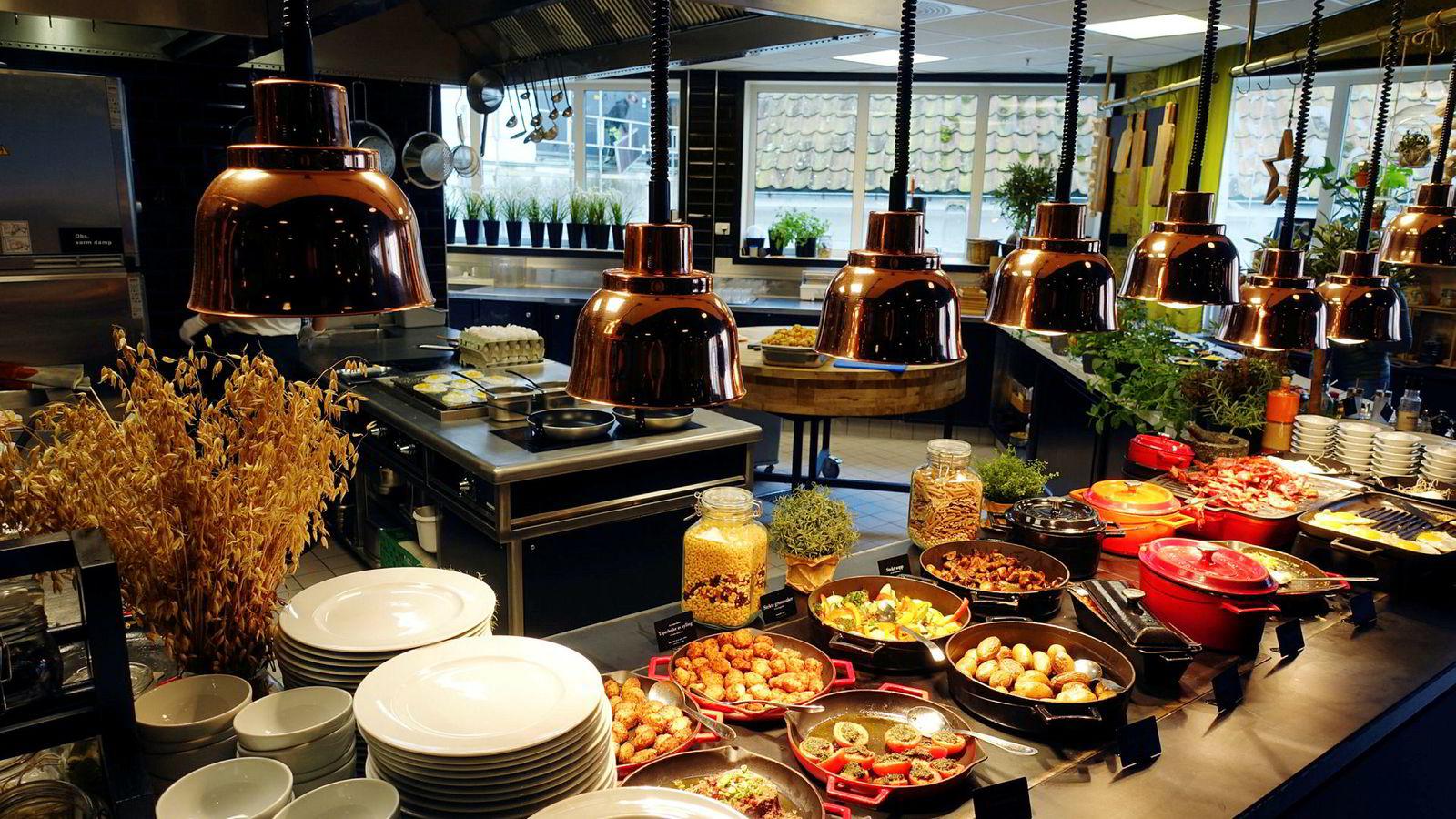 Frokosten er enkelt og greit strålende, men ikke alt er like bra på Thon Hotel Stavanger