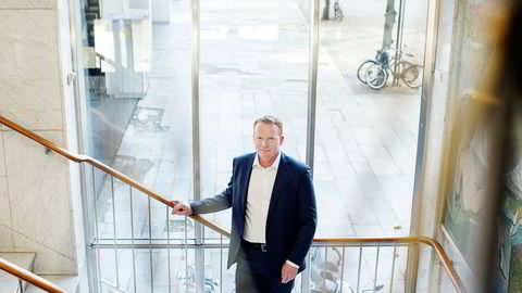 Analysesjef Lars-Daniel Westby i Sparebank 1 Markets har tro på flyselskapet SAS fremover. Foto: Øyvind Elvsborg