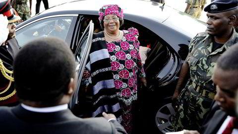 Joyce Banda, her fra sin egen innsettelse i 2012, er en av få kvinner som har hatt en presidentverv på det afrikanske kontinent. Nye anklager kan gjøre det vanskelig for henne å gjøre comeback.