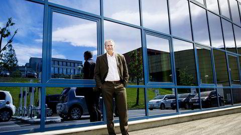 Daglig leder Terje Male i Møller bil AS. Foto: Gorm K. Gaare
