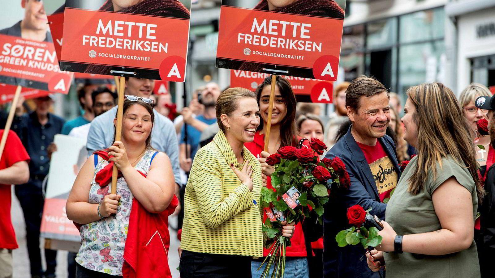 Mette Frederiksen fra Socialdemokratiet blir Danmarks nye statsminister.