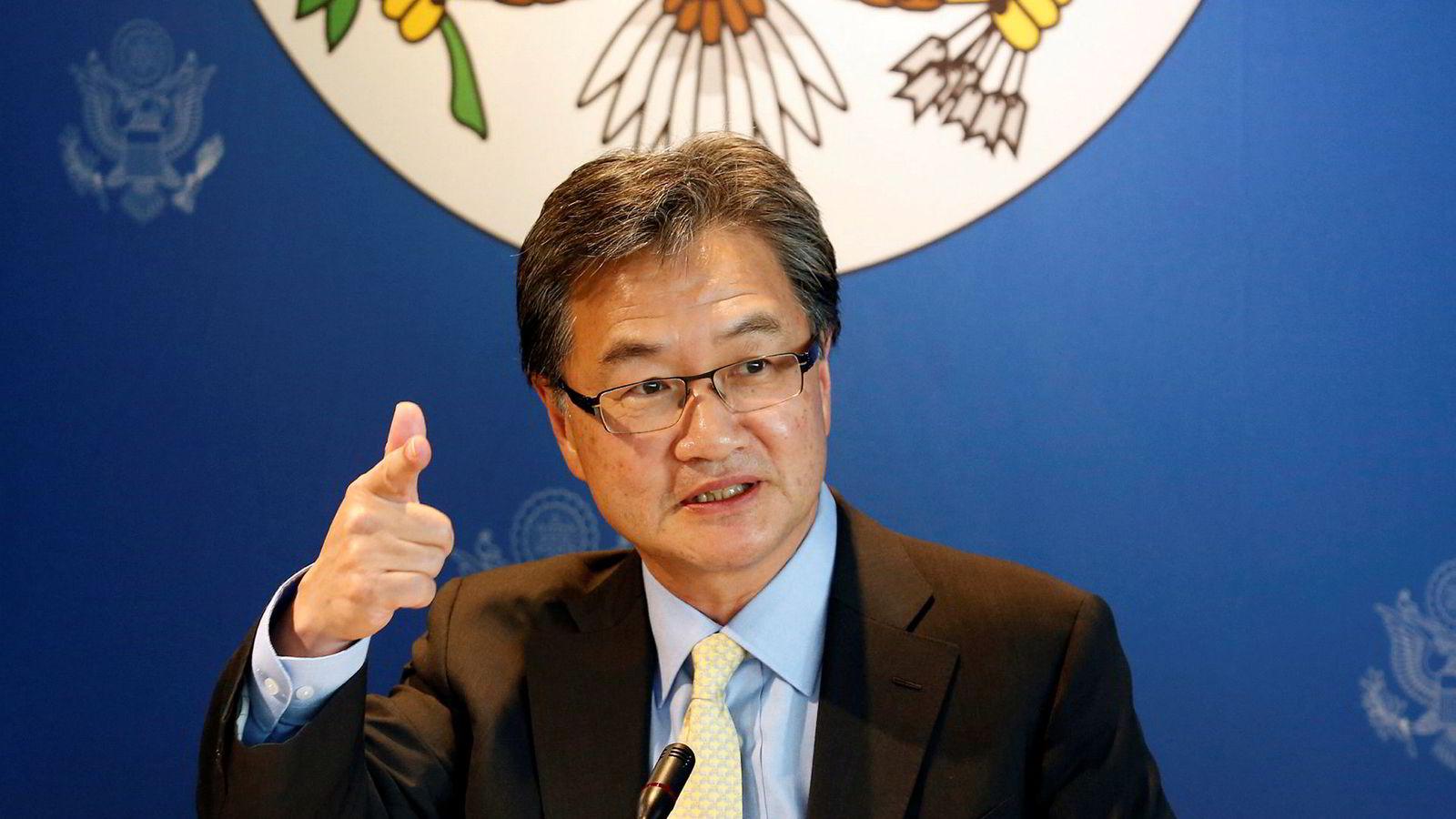 USAs tidligere spesialutsending til Nord-Korea, Joseph Yun, forhandlet med nordkoreanske representanter i Oslo i 2016.