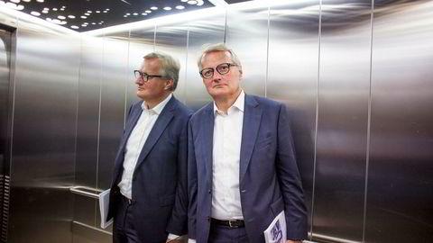 – Vi har fått noen eksempler på begivenheter som viser at teknologi og manipulasjon av teknologi kan være veldig skummelt, sier DNB-sjef Rune Bjerke.
