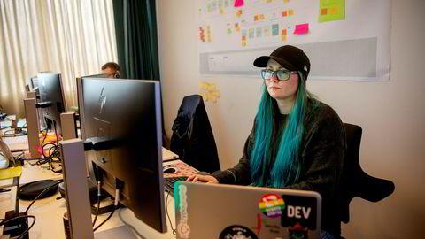 Sikkerhetsspesialist og software-ingeniør Marit Tokle i konsulentselskapet Sopra Steria.