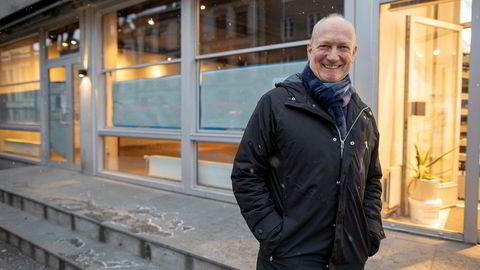 Frossenmat-kjeden Iceland åpner i løpet av vinteren en ny butikk på St. Hanshaugen (lokalet i bakgrunnen) og to andre steder i Oslo. – Denne butikken blir noe større enn de to vi allerede har, sier Iceland-sjef Geir Olav Opheim.
