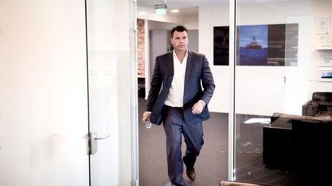 Harald James Otterhaug og hedgefondet han leder, har lagt bak seg et rekordår. Foto: Per Ståle Bugjerde