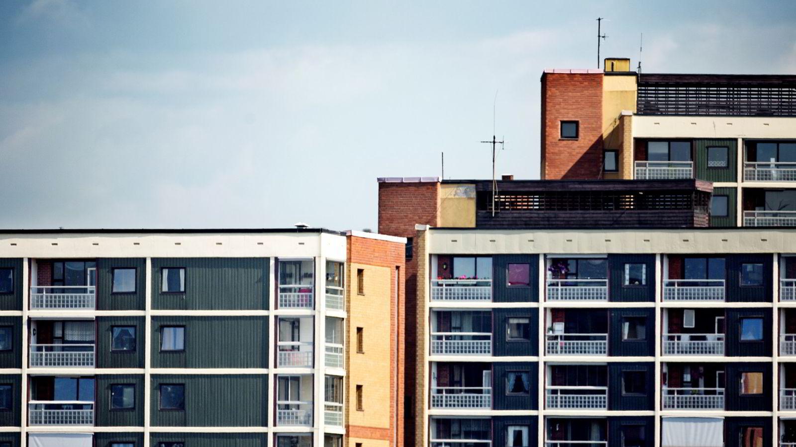 VARIERER: Leieprisene for boliger varierer stort.