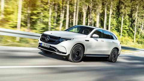 Mercedes EQC skal ha over 2300 reservasjoner på det norske markedet.