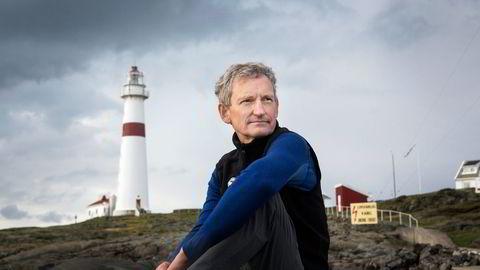 Nils Øveraas er generalsekretær i Den Norske Turistforening. Her på Torungenfyr. Foto: