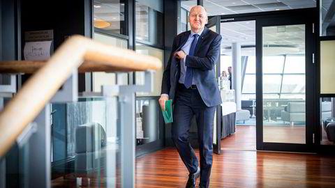 Her er Telenors konsernsjef, Sigve Brekke.