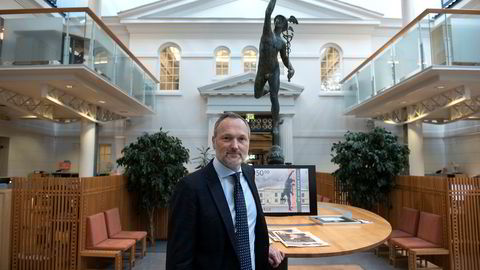 Håvard Abrahamsen, konsernsjef i Oslo Børs VPS.