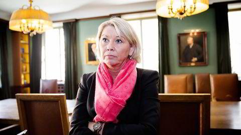 Næringsminister Monica Mæland (H). Foto: Per Thrana