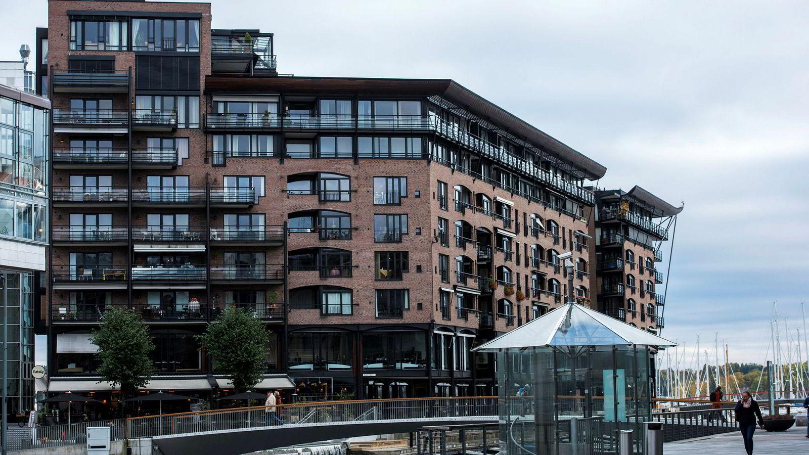 Vi forventer at en leilighet på Aker Brygge vil ha en høy verdi også om 100 år. Når renten er så lav som nå, vil prisen på en leilighet på Aker Brygge også reflektere denne fremtidige verdien, skriver forfatteren.