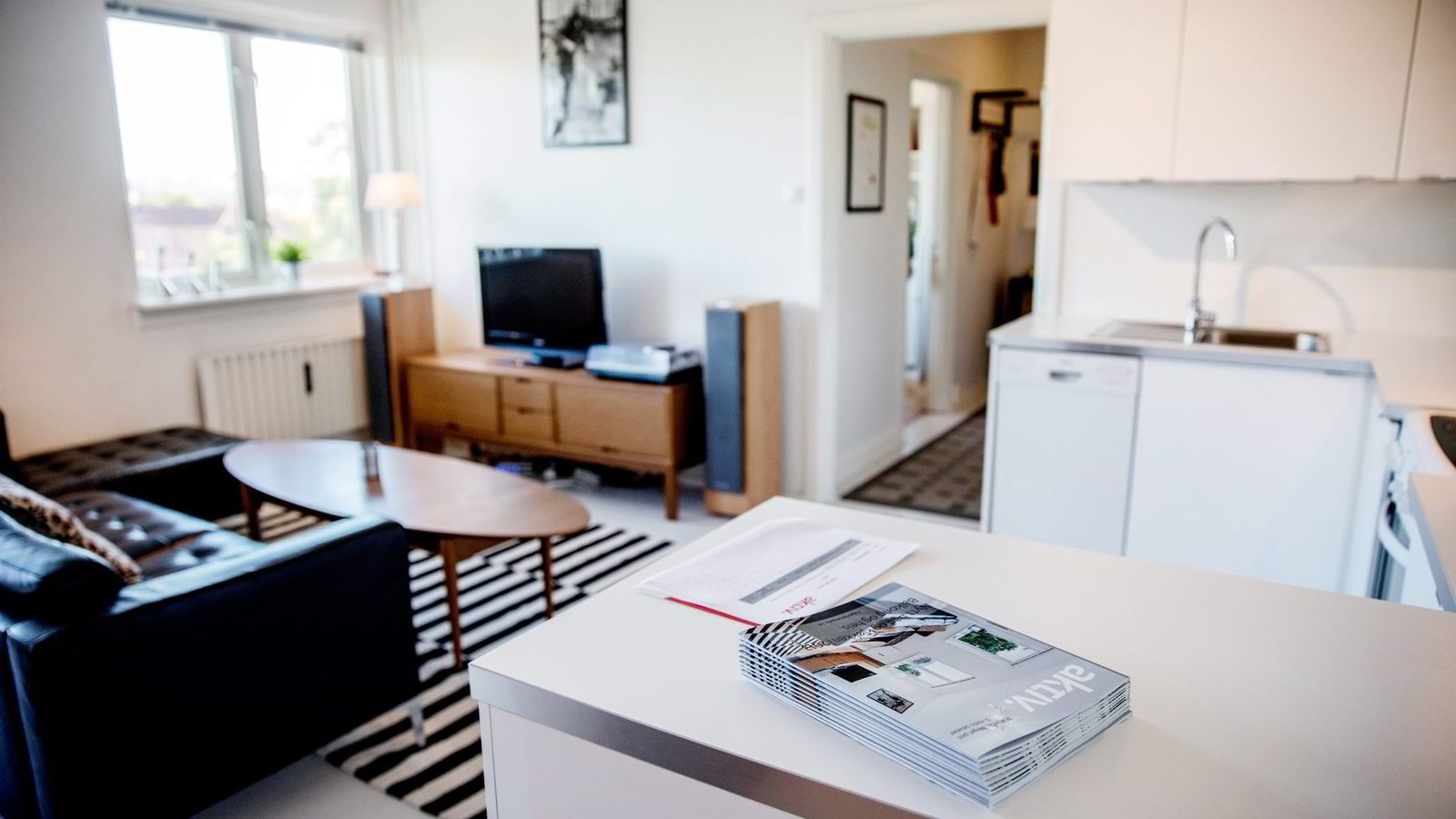 Prisantydningen på denne leiligheten på Torshov i Oslo ble oppjustert fra tre til 3,3 millioner kroner. Onsdag ble den solgt for 3,7 millioner. Foto: Per Thrana