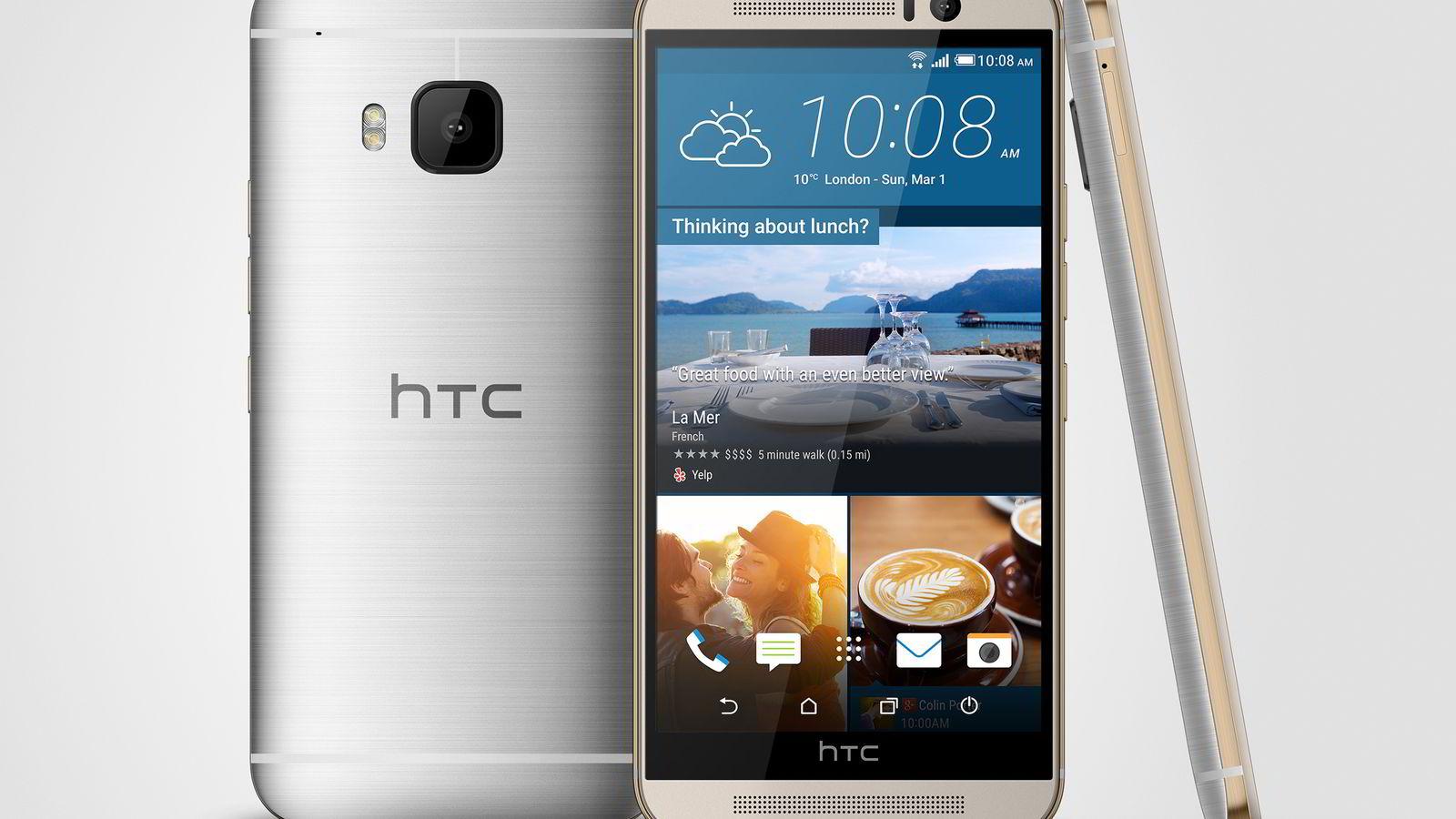 HTC One M9 er veldig lik forgjengerne, men byr på en rekke nyheter.