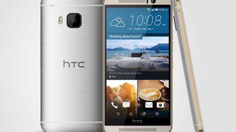 HTC One M9 er veldig lik forgjengerne, men byr på en rekke nyheter. Foto: HTC
