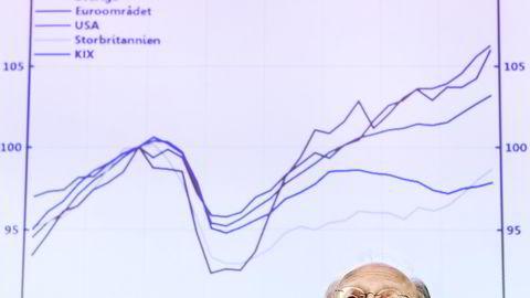 Sveriges riksbanksjef Stefan Ingves overrasket med å kutte renten til null forrige uke. Foto: Tomas Oneborg / SvD / TT / NTB scanpix
