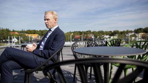 Yara-sjef Svein Tore Holsether. Foto: