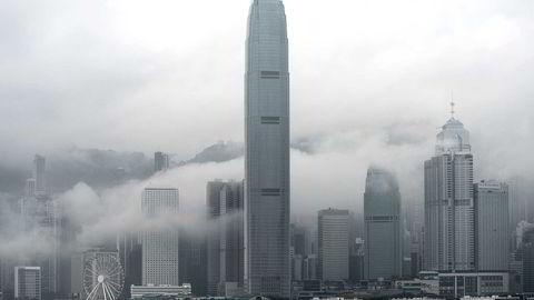 Hong Kong er med sine drøyt syv millioner innbyggere et av de mest urbaniserte områdene i Asia. Medlemmene i ASEAN-gruppen venter høy vekst i byer som Jakarta, Manila og Bangkok. Foto: Philippe Lopez/AFP/NTB Scanpix