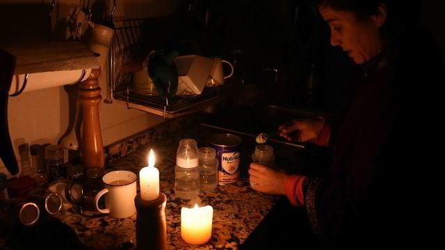 Myndighetene i Uruguay og Argentina jobber på spreng etter strømbruddet