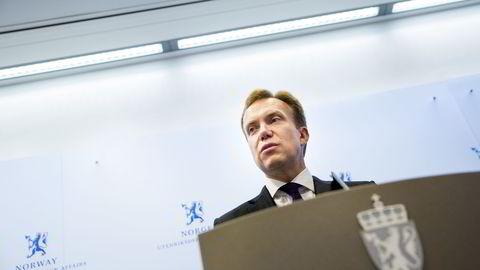 Utenriksminister Børge Brende. Foto: Tore Meek /